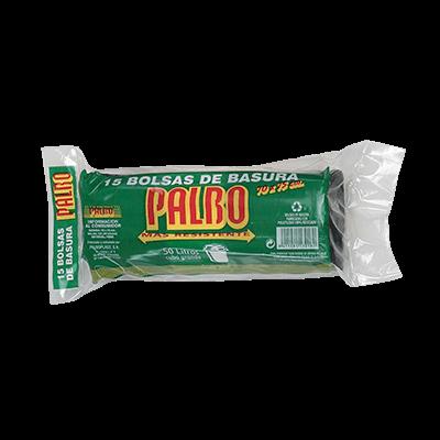 Sacs poubelles domestiques avec lien coulissant 70×75 Noir G120 Palbo