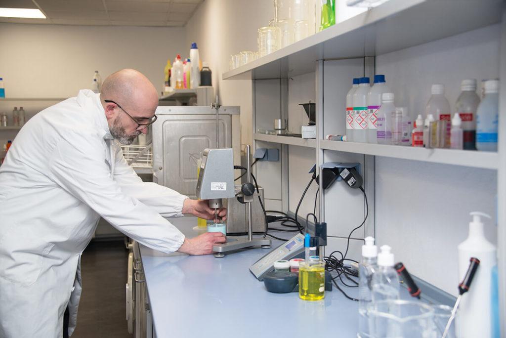 personal laboratorio