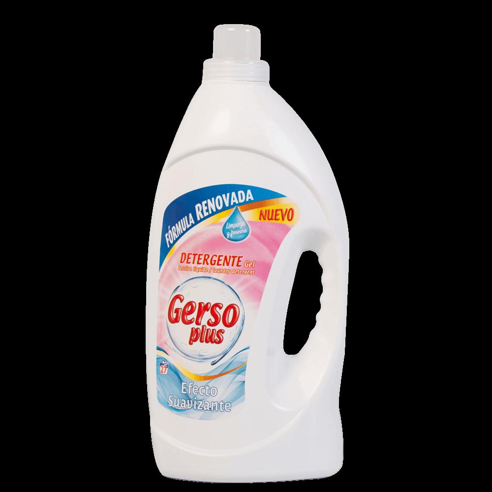 Detergente Efecto Suavizante Gerso Plus 1,9 L.