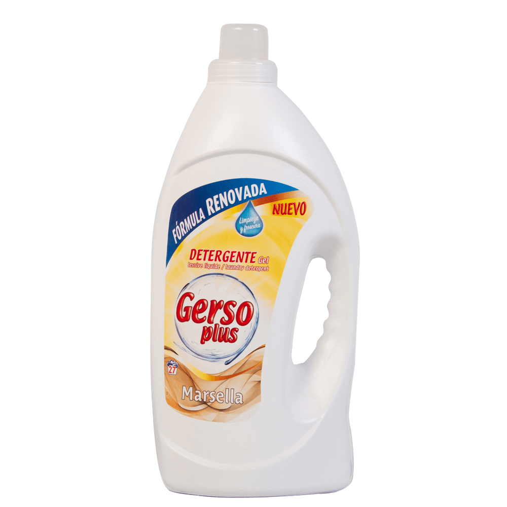Detergente Gel Marsella Gerso Plus