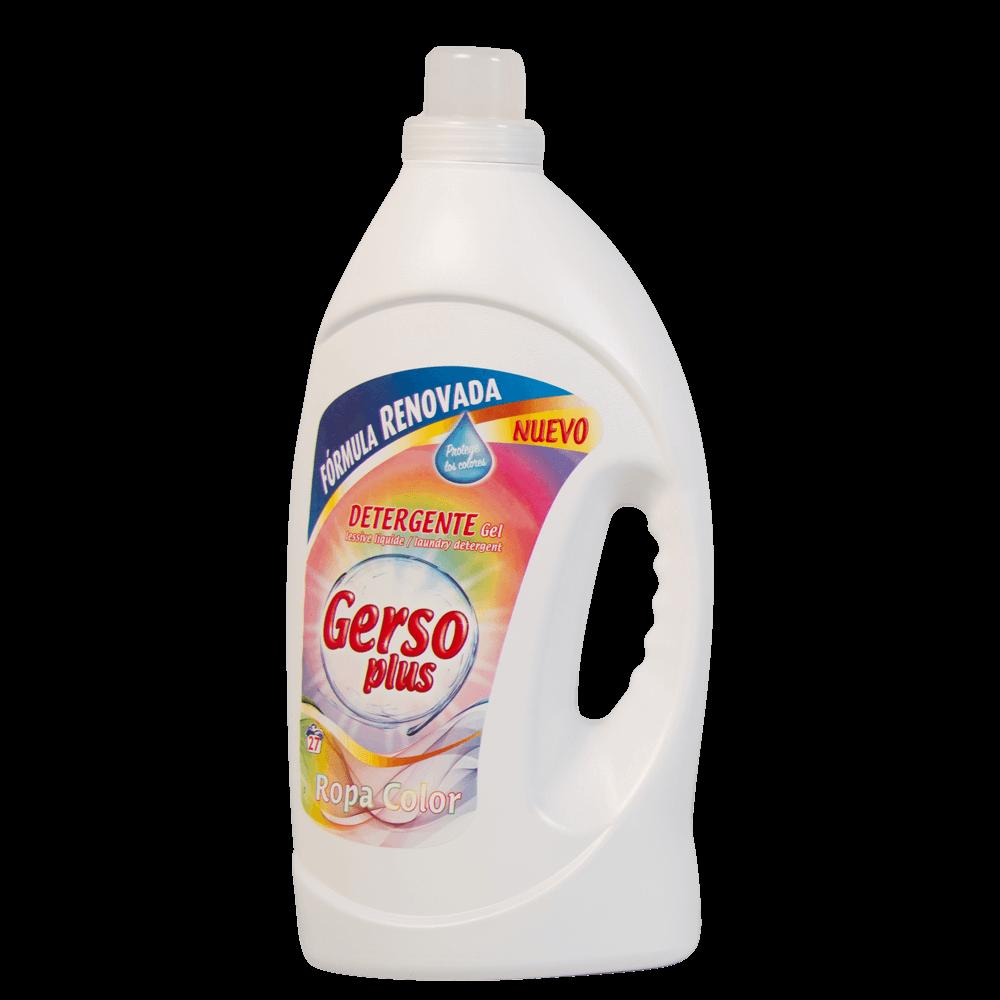Gerso Plus Coloured Clothes Gel Detergent