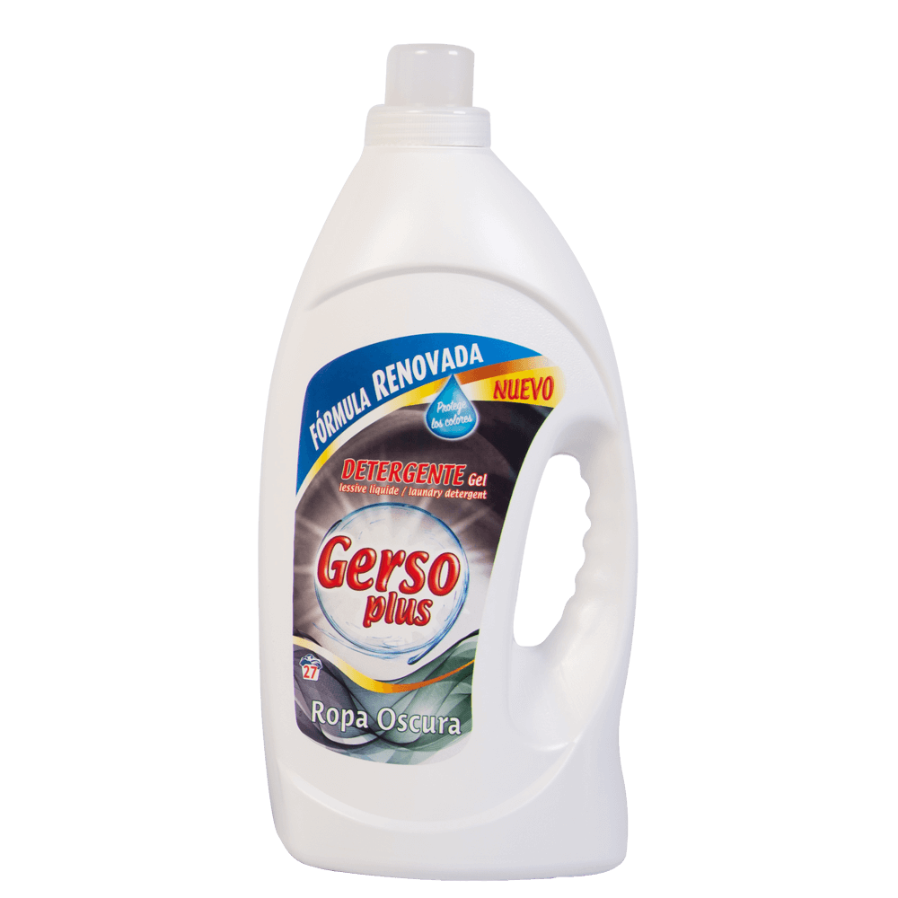 Detergente Gel Ropa Oscura Gerso Plus