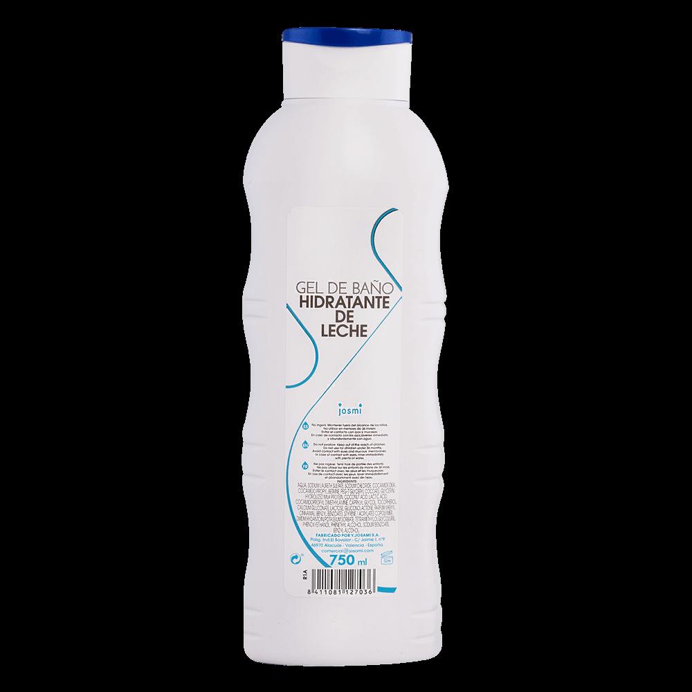 Gel douche hydratant au lait Josmi