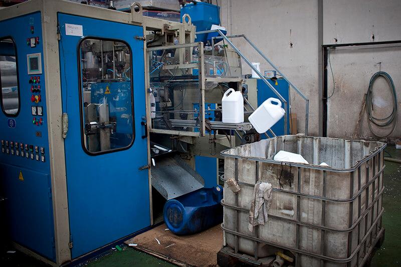 maquinaria fabricación envases