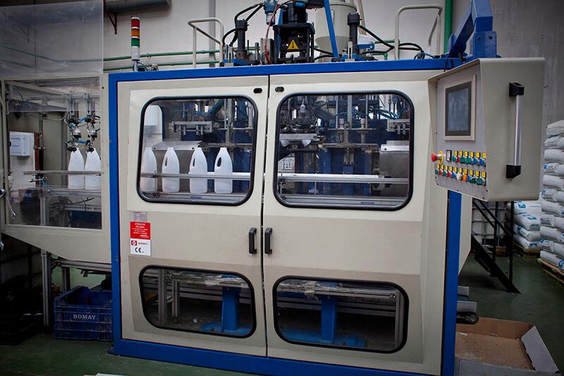 línea de producción de envases